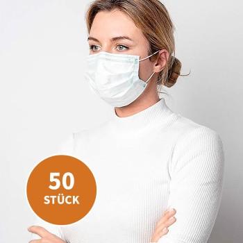 OP-Maske - Mund- Nasenabdeckung, 50 Stück